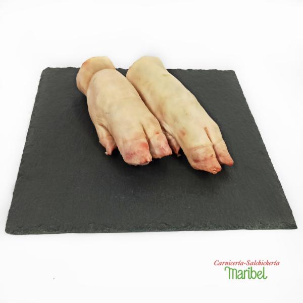pies de cerdo